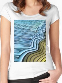 Ebb Tide Women's Fitted Scoop T-Shirt