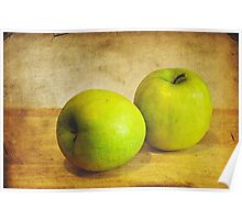 Green Apples Poster