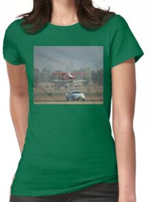 """""""Pull Over Sir"""" @ Mudgee Air Show 2007 Womens Fitted T-Shirt"""
