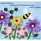 Fields of Flowers by Cathy O. Lewis