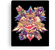 BOWSER NEVER LOVED ME (full color) Canvas Print