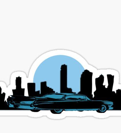 Cadillac Moon Sticker