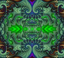 Jade Crystal Ball  (UF0762) by barrowda