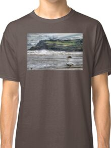 Swans on the Beach - Robin Hood's Bay Classic T-Shirt