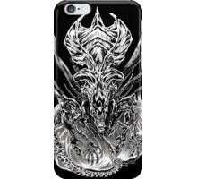 LONG LIVE THE QUEEN (black and white) iPhone Case/Skin