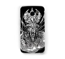 LONG LIVE THE QUEEN (black and white) Samsung Galaxy Case/Skin