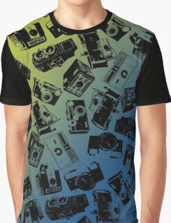 Camera Collage Graphic T-Shirt