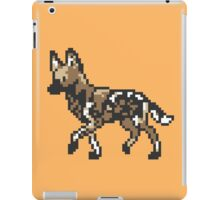 8bit African Wild Dog iPad Case/Skin