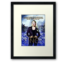 """""""This Is Who I Am"""" Framed Print"""