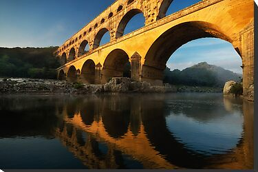 Pont du Gard by Mieke Boynton