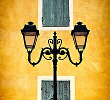 Streetlights of Provence by Mieke Boynton