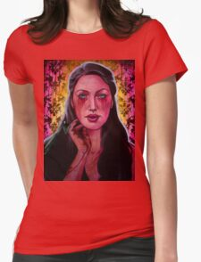 The Mantodea Sultan (VIDEO IN DESCRIPTION!!!) Womens Fitted T-Shirt
