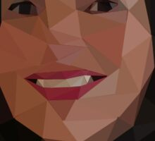 Once Upon a Time - Polygonal Regina Sticker