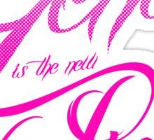 Genius is the new Pink Sticker