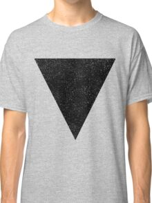 Black Starry Triangle Classic T-Shirt