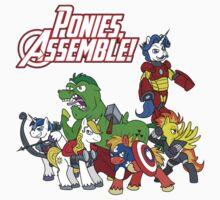 Ponies, assemble! Kids Clothes