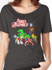 Ponies, assemble! Women's Relaxed Fit T-Shirt
