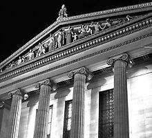 Philadelphia Art Museum by John Brady