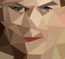 Once Upon a Time - Polygonal Emma Swan Sticker
