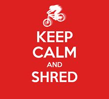 KEEP CALM and SHRED Unisex T-Shirt