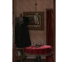 The crooked game in Denny's Saloon Photographic Print