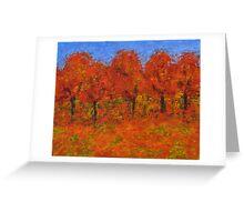 016 Fall Colors Greeting Card