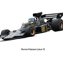 Lotus 72 Ronnie Peterson by jonbunston