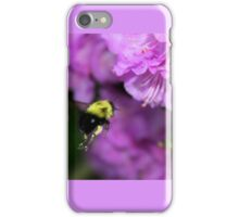 Flying Bumble Bee Collection Pollen iPhone Case/Skin