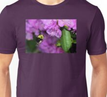 Flying Bumble Bee Collection Pollen Unisex T-Shirt