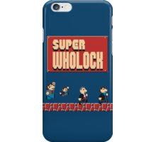Super Wholock iPhone Case/Skin