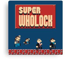 Super Wholock Canvas Print