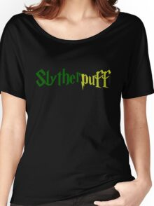 Slytherpuff Women's Relaxed Fit T-Shirt
