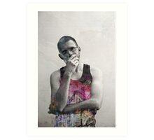 Andrew - Skeletons Art Print