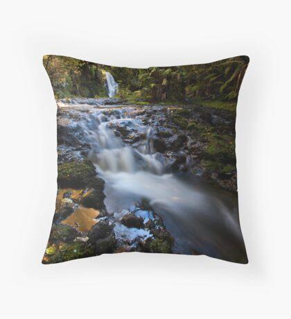 Whataroa Gold Throw Pillow