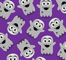 Spooky Scary Ghosts by 'Chillee Wilson' by ChilleeWilson