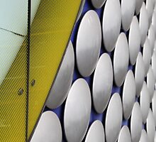 Buttons on Building, Selfridges, Birmingham by Jane McDougall