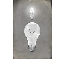 Bright Idea  Photographic Print