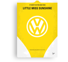 No103 My Little Miss Sunshine movie poster Canvas Print