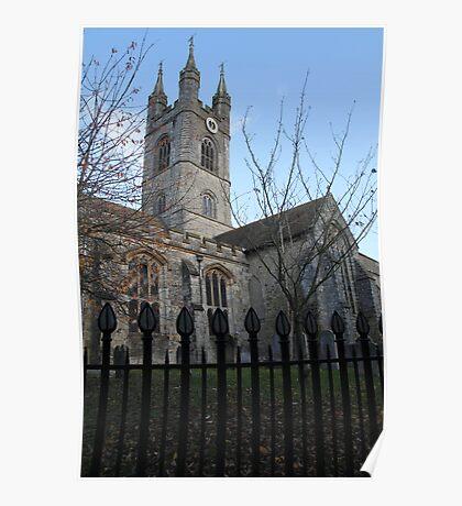 Gothic Stone Church, Kent, England Poster