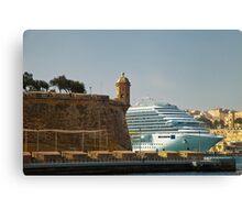 Grand Harbour Valletta Canvas Print