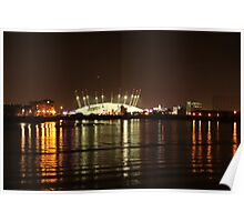 London Olympics Millenium Dome Poster