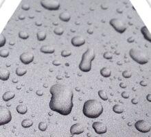 Silver Raindrops Sticker