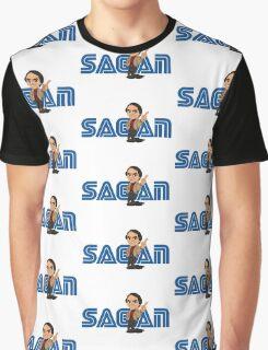 Sagan Logo Graphic T-Shirt