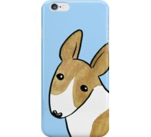 English Bull Terrier - Brindle and White iPhone Case/Skin