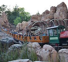 Big Thunder Mountain Railway,  by Anthony Keevers