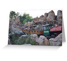 Big Thunder Mountain Railway,  Greeting Card