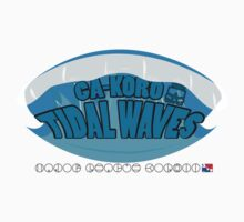 Ga-Koro Tidal Waves Kids Clothes