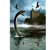 Loch Ness Monster Photographic Print