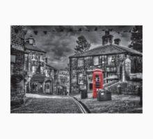 Haworth - Red Telephone Box One Piece - Long Sleeve