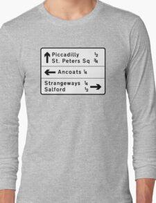 Strangeways, Here We Come (via Miller Street) Long Sleeve T-Shirt